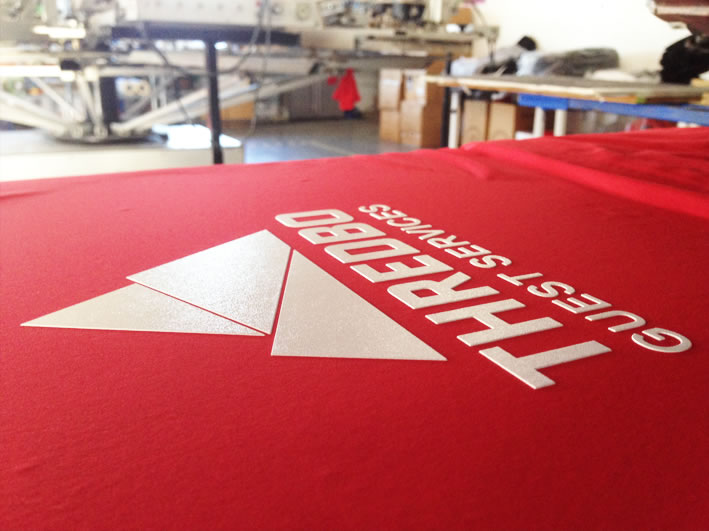 High Density raised feel screen printed T-shirts