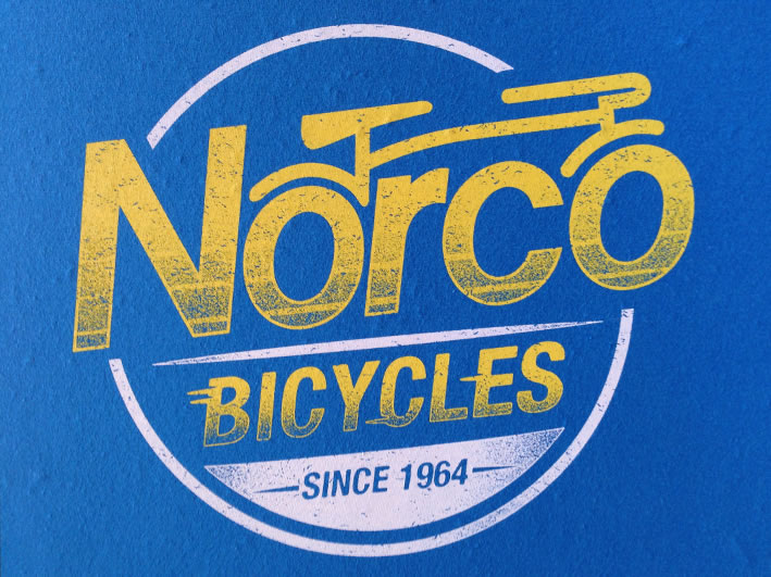 Norco Plastisol screen printed T-shirts